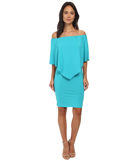 Culture Phit - Nalah Dress (Aqua) Women's Dress