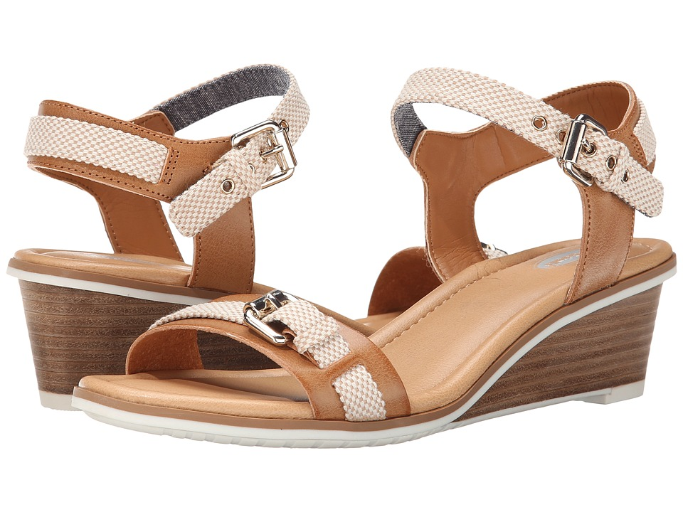 Dr. Scholl's - Glendale (Camel Beach Bag) Women's Wedge Shoes