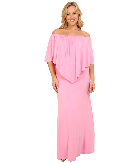 Culture Phit - Plus Size Ayden Dress (Pink) Women's Dress