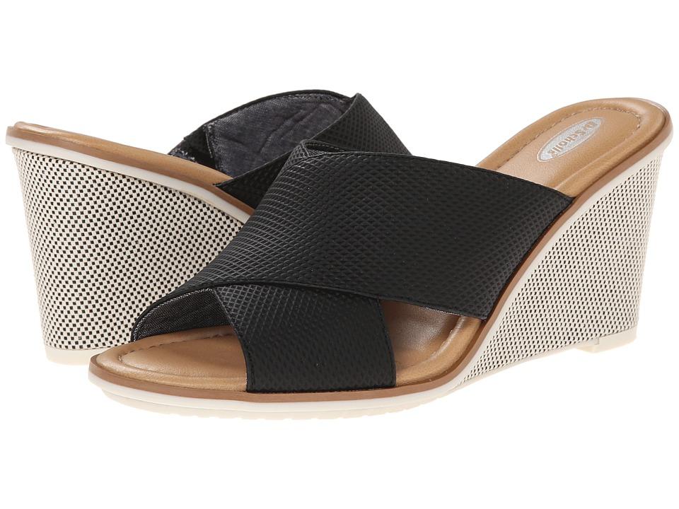 Dr. Scholl's - Jada (Black Diamond Punch) Women's Wedge Shoes