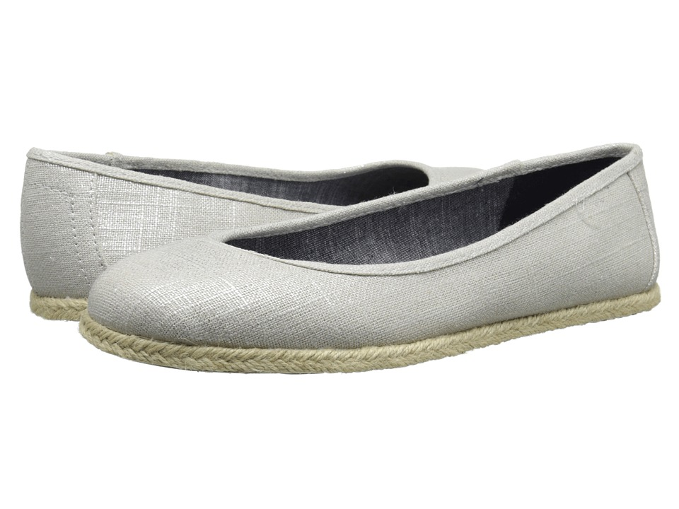 Dr. Scholl's - Palma (Metallic Silver) Women's Flat Shoes