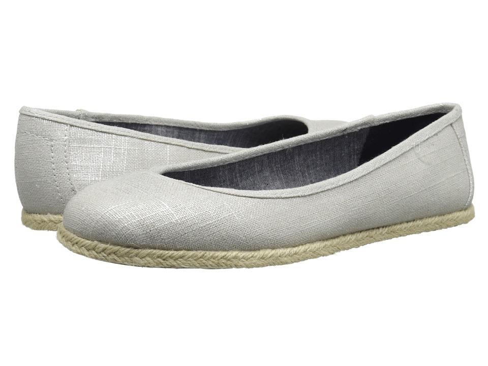 Dr. Scholl's - Palma (Metallic Silver) Women's Flat Shoes