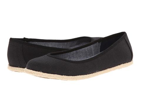 Dr. Scholl's - Palma (Black Beach Bag Canvas) Women's Flat Shoes