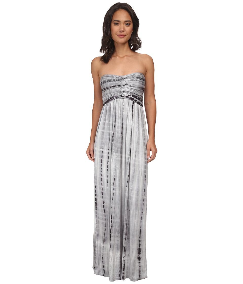 Culture Phit - Liliana Maxi Dress (Grey Tie-Dye) Women