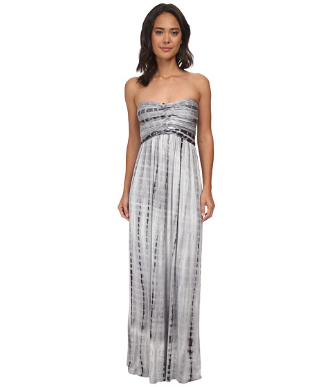 Culture Phit - Liliana Maxi Dress (Grey Tie-Dye) Women's Dress