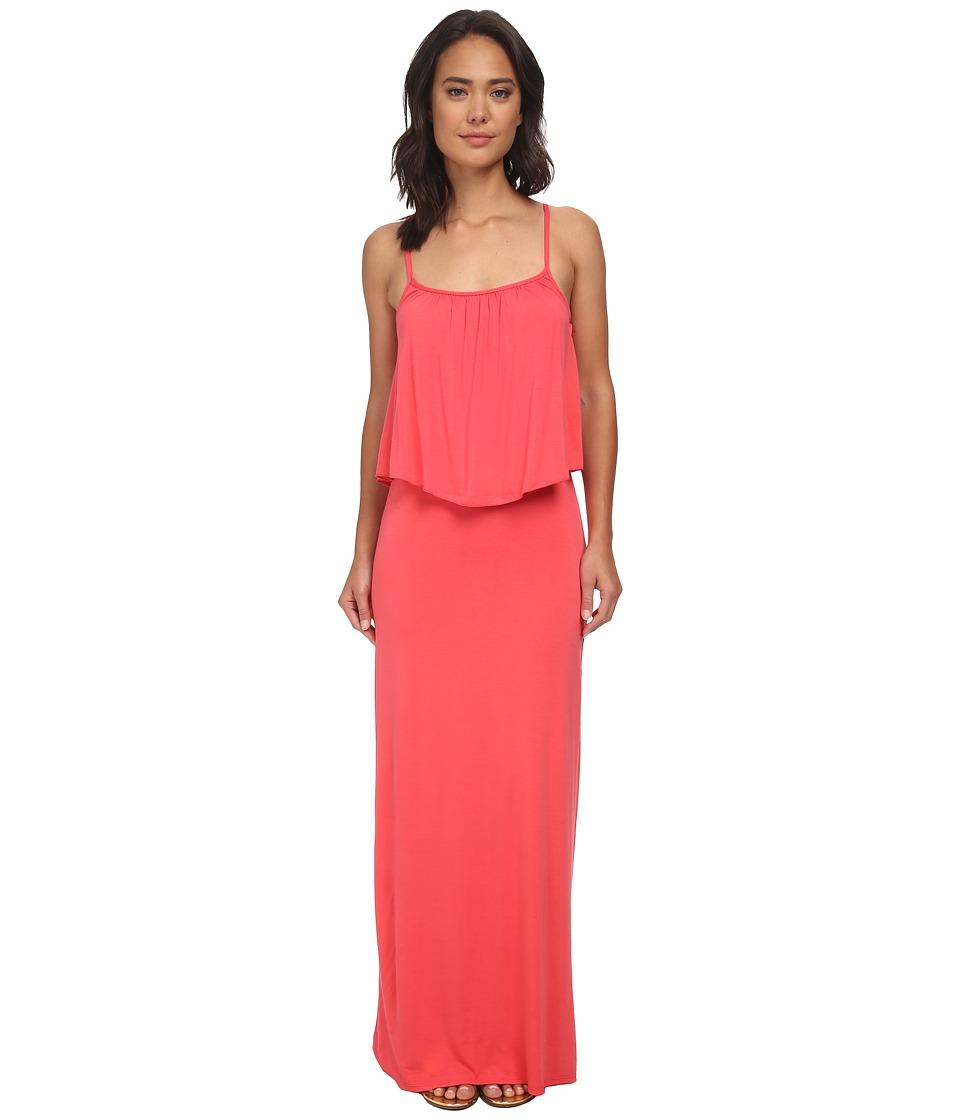 Culture Phit Monicah Maxi Dress (Coral) Women
