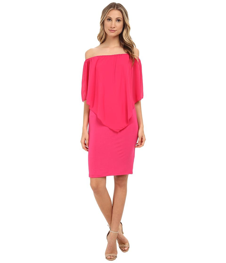 Gabriella Rocha - Chiffon Nalah Dress (Fuchsia) Women's Dress