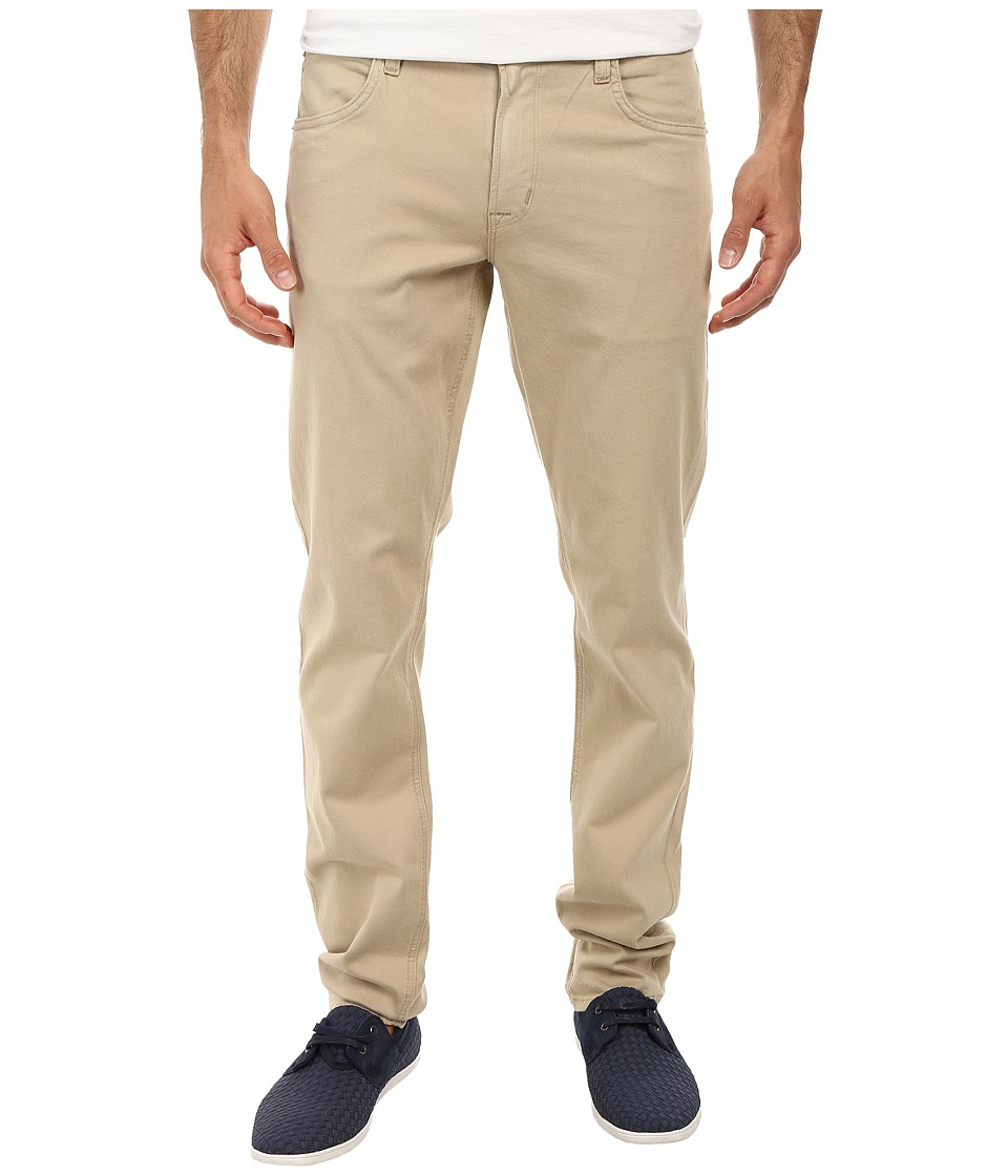 Hudson - Blake Five-Pocket Slim Straight Jean in Canyon Khaki (Canyon Khaki) Men