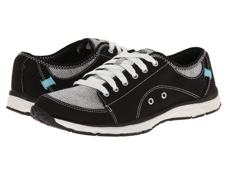 Dr. Scholl's - Anna (Black) Women's Lace up casual Shoes