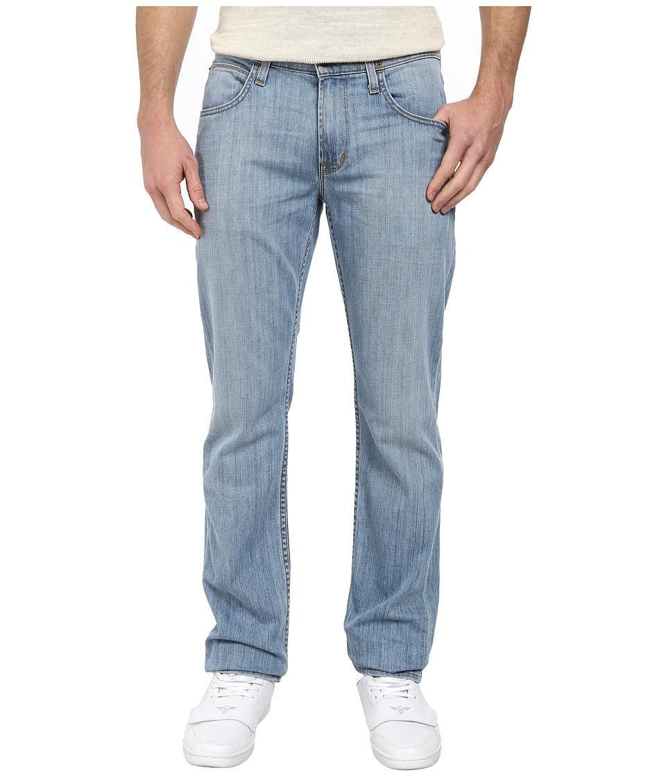 Hudson - Byron Five-Pocket Straight Zip Fly in Coastal (Coastal) Men's Jeans