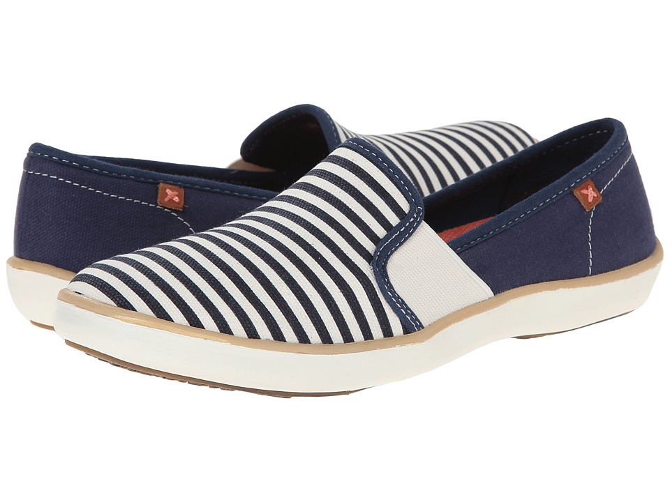 Dr. Scholl's - Mantra (Navy/Gardenia) Women's Slip on Shoes