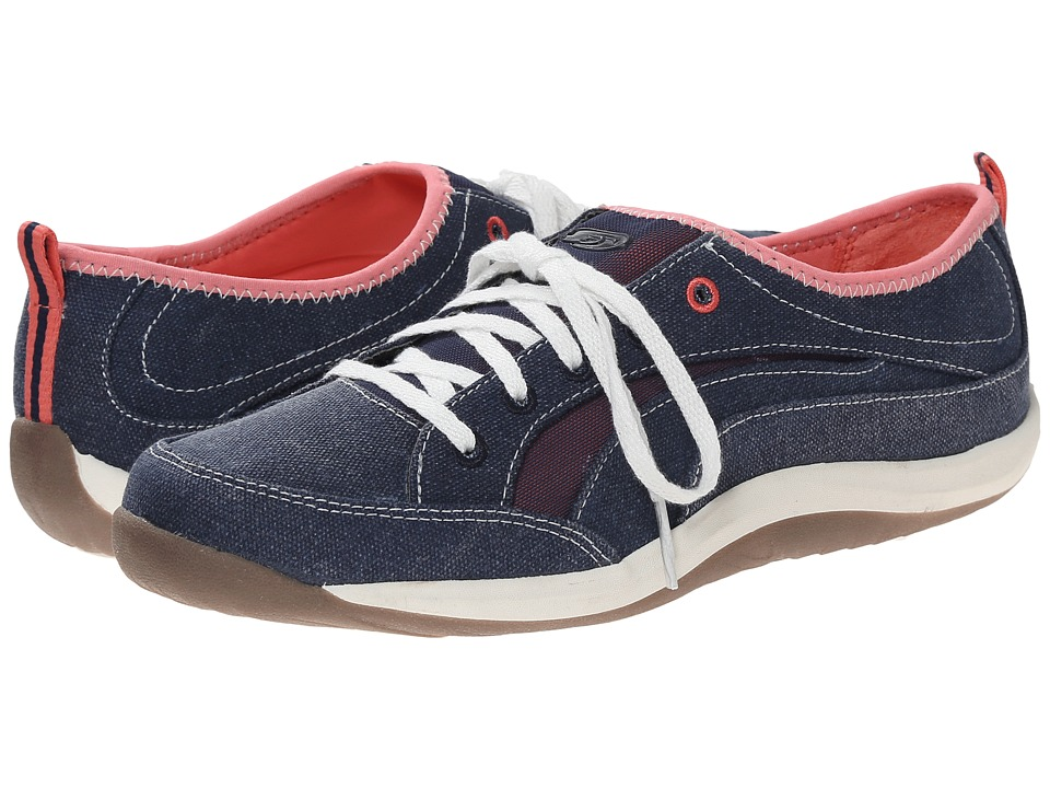 Dr. Scholl's - Miracle (Navy/Shell Pink) Women's Lace up casual Shoes