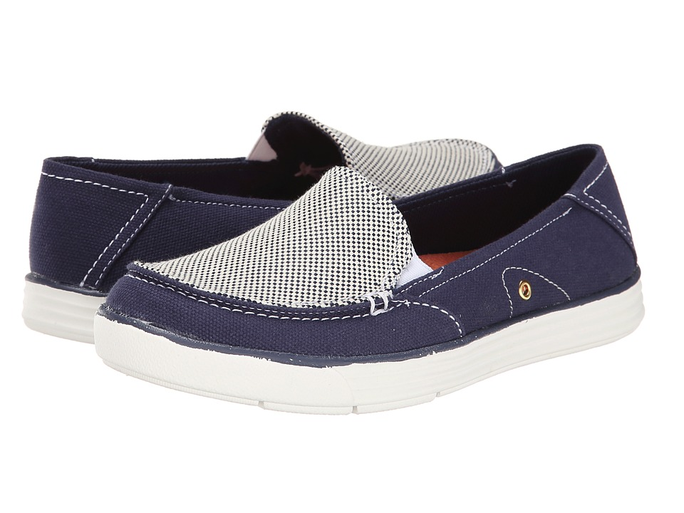 Dr. Scholl's - Waverly (Navy Beach Bag) Women's Lace up casual Shoes