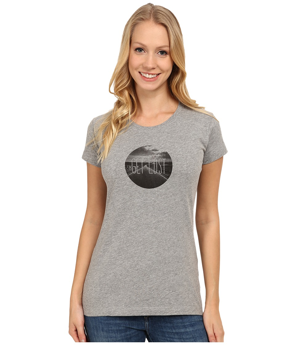 Mountain Hardwear - Get Lost S/S Graphic T-Shirt (Heather Grey) Women
