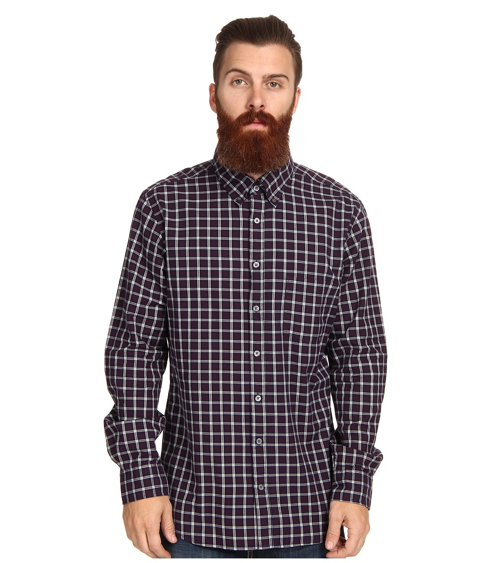 Rodd & Gunn - Cormack Shirt (Aubergine) Men's Clothing
