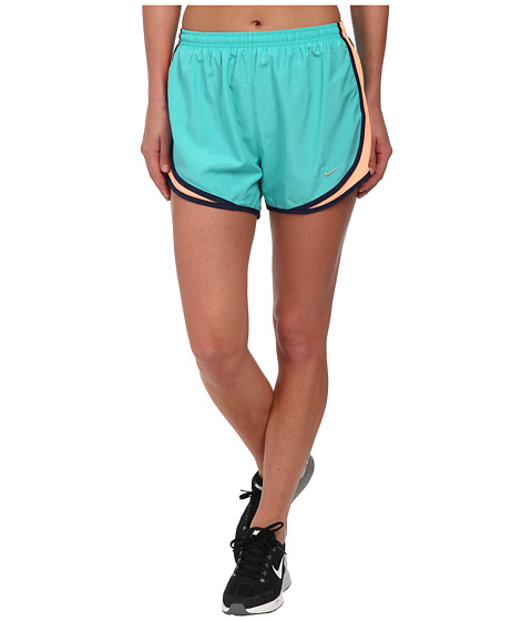 Nike - Tempo Short (Light Retro/Sunset Glow/Midnight Navy/Matte Silver) Women's Workout