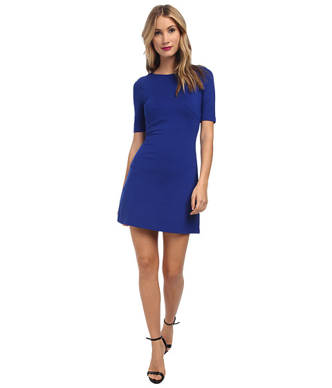 French Connection - Marie Stretch Dress (Monarch Blue) Women's Dress