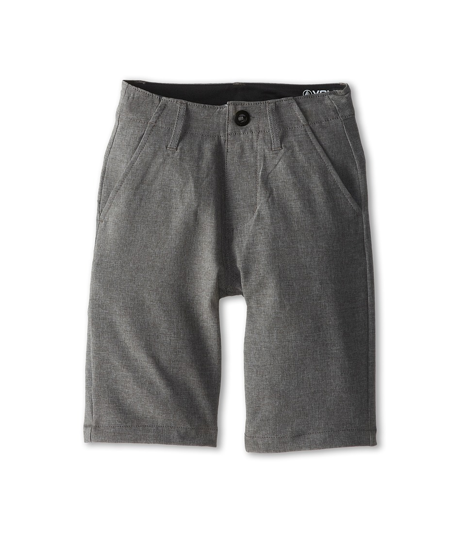 Volcom Kids - Frickin Static Short (Big Kids) (Gunmetal Grey) Boy's Shorts