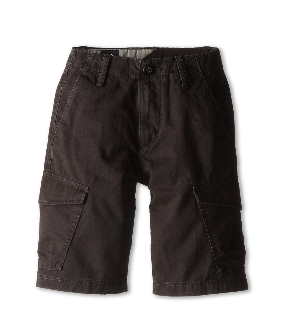 Volcom Kids - Fieldstone Cargo Short (Big Kids) (Black) Boy's Shorts