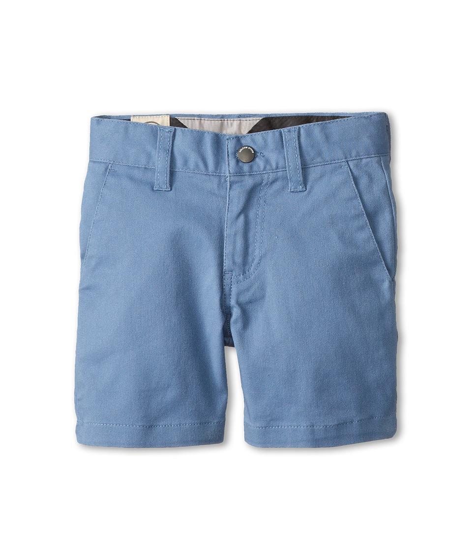 Volcom Kids - Frickin Modern Stretch Short (Toddler/Little Kids) (Blue) Boy