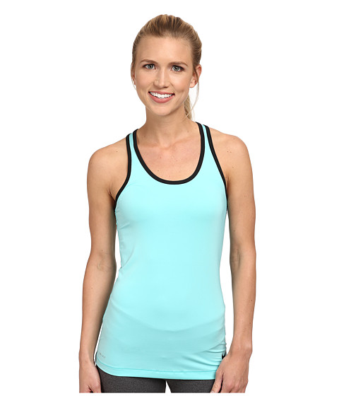 Nike - Pro Hypercool Tank 2.0 (Light Aqua/Black) Women's Sleeveless