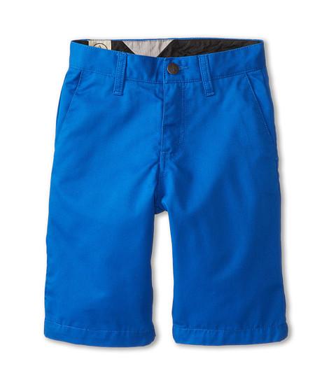 Volcom Kids - Frickin Chino Short (Big Kids) (Baja Indigo) Boy's Shorts