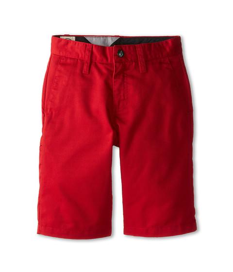 Volcom Kids - Frickin Chino Short (Big Kids) (Drip Red) Boy's Shorts