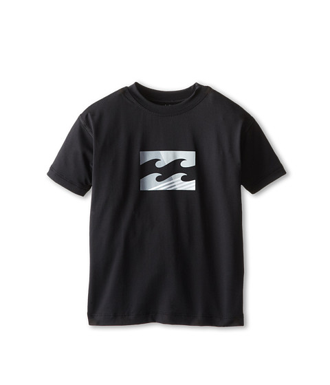 Billabong Kids - Chronicle Slice S/S Tee (Toddler/Little Kids/Big Kids) (Black) Boy