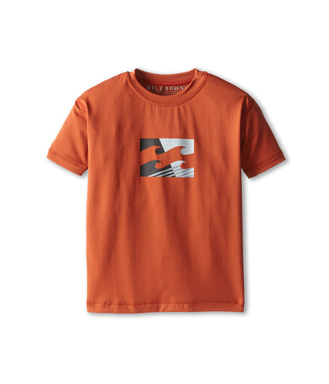 Billabong Kids - Chronicle Slice S/S Tee (Toddler/Little Kids/Big Kids) (Dark Red) Boy