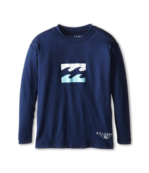 Billabong Kids - Submersible L/S Tee (Toddler/Little Kids/Big Kids) (Navy) Boy