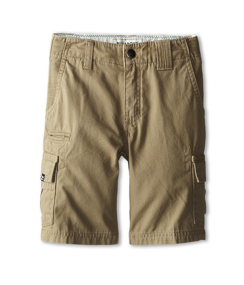 Billabong Kids - Scheme Walkshort (Toddler/Little Kids) (Dark Khaki) Boy's Shorts