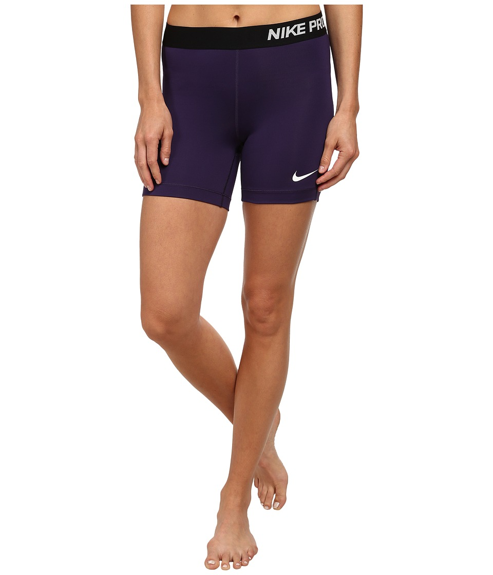 Nike - Pro Five-Inch Short (Ink/Black/White) Women's Shorts