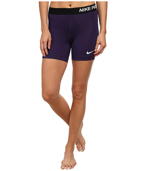 Nike - Pro Five-Inch Short (Ink/Black/White) Women