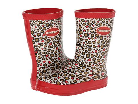 Havaianas Kids - Aqua Fashion Rain Boots (Toddler/Little Kid) (Red) Girls Shoes