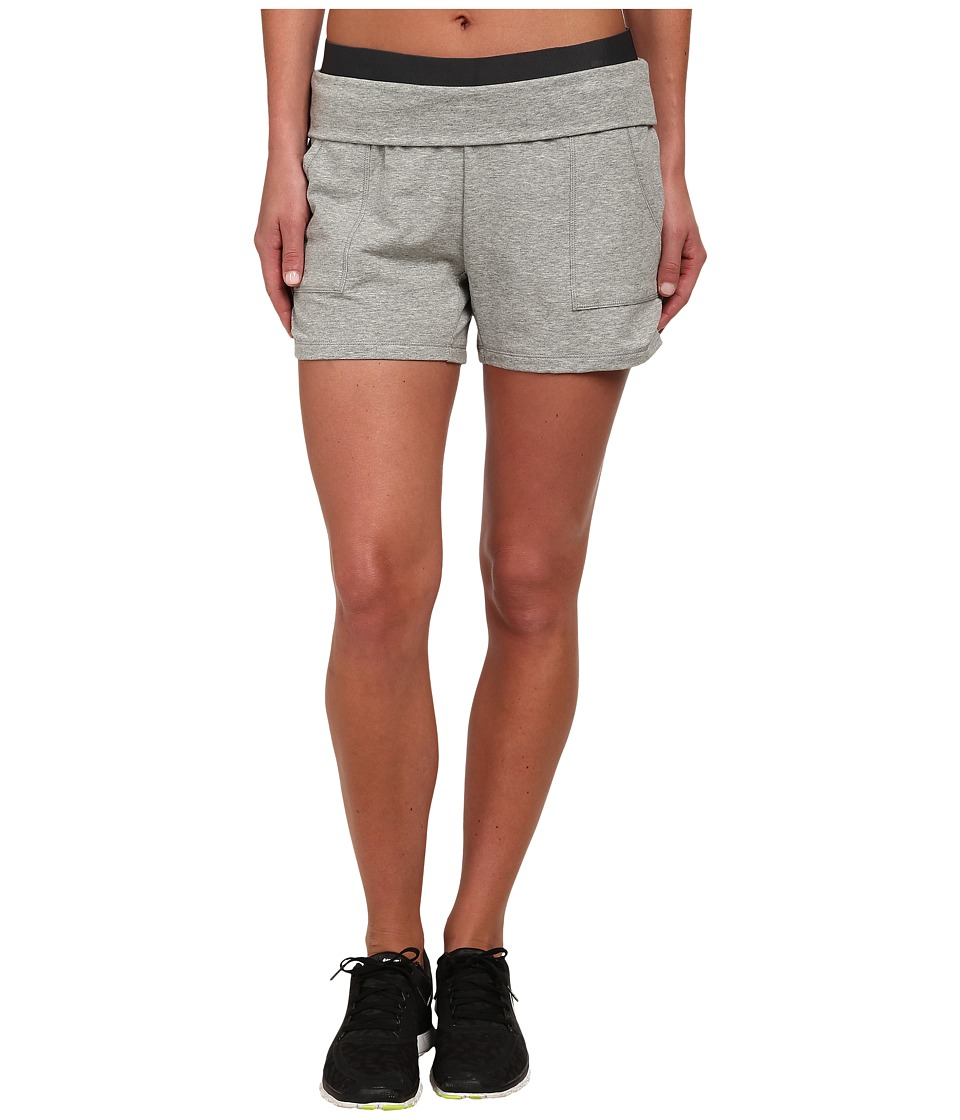 Nike - Dri-FIT Lightweight Obsessed Short (Dark Grey Heather/Anthracite/Flint Silver) Women's Shorts