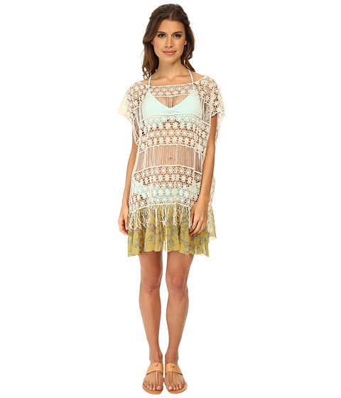 Maaji - Lemonsilla Village Short Dress Cover-Up (Yellow) Women