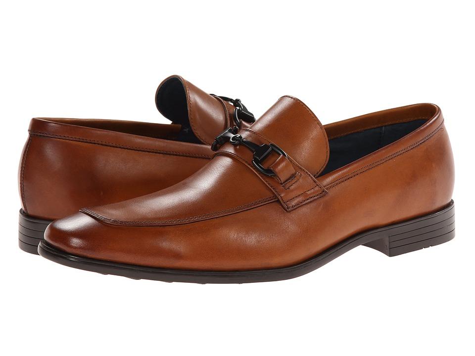 Gordon Rush - Birch (Cognac) Men's Slip-on Dress Shoes