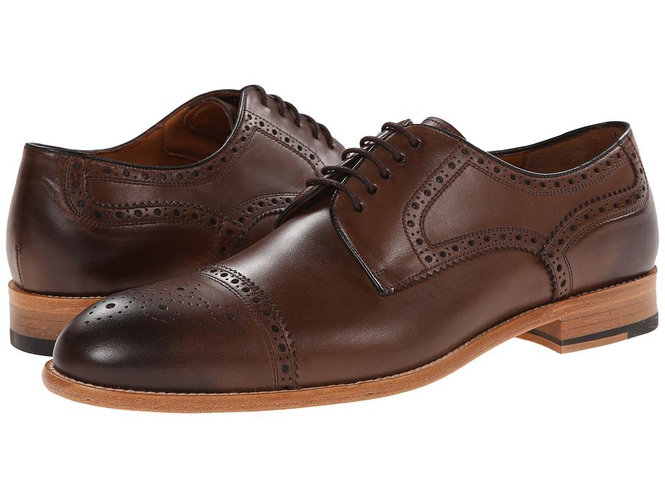 Gordon Rush - Calder (Espresso) Men's Lace Up Cap Toe Shoes