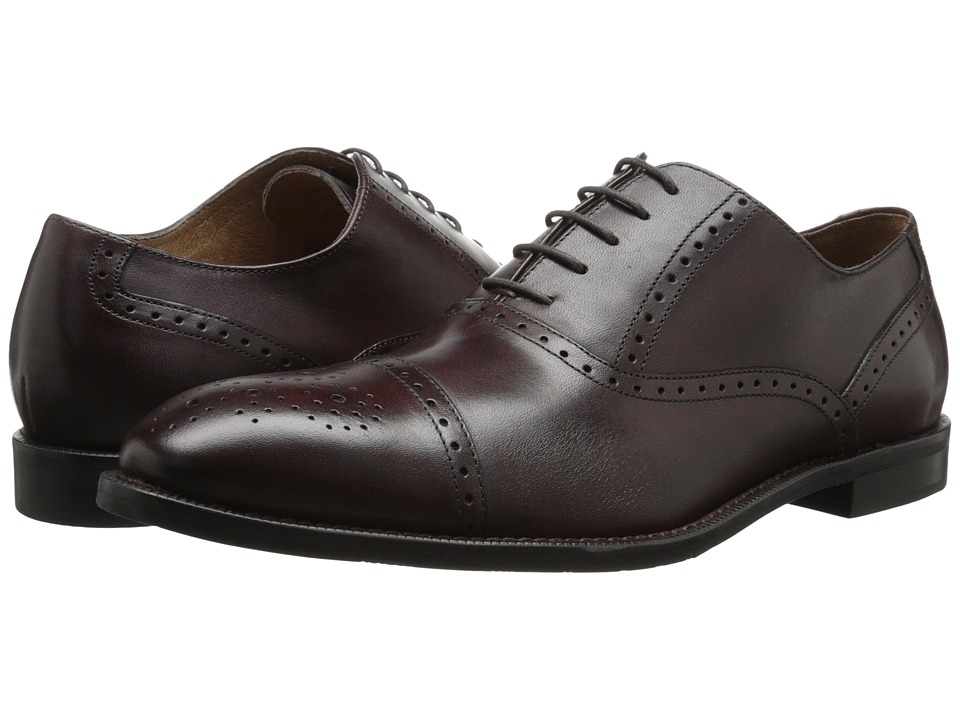 Gordon Rush - Whitney (Burgundy) Men's Lace Up Cap Toe Shoes