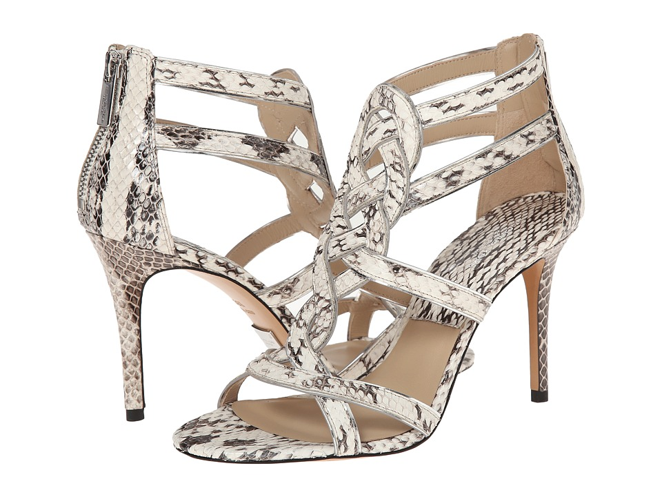Michael Kors - Branson (Natural Genuine Snake/Specchio) High Heels