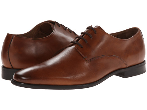 Gordon Rush - Dodds (Cognac) Men's Plain Toe Shoes