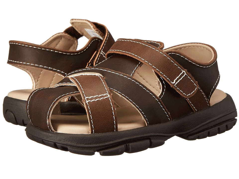 Baby Deer - Fisherman Walking Sole Sandal (Infant/Toddler) (Brown) Boys Shoes
