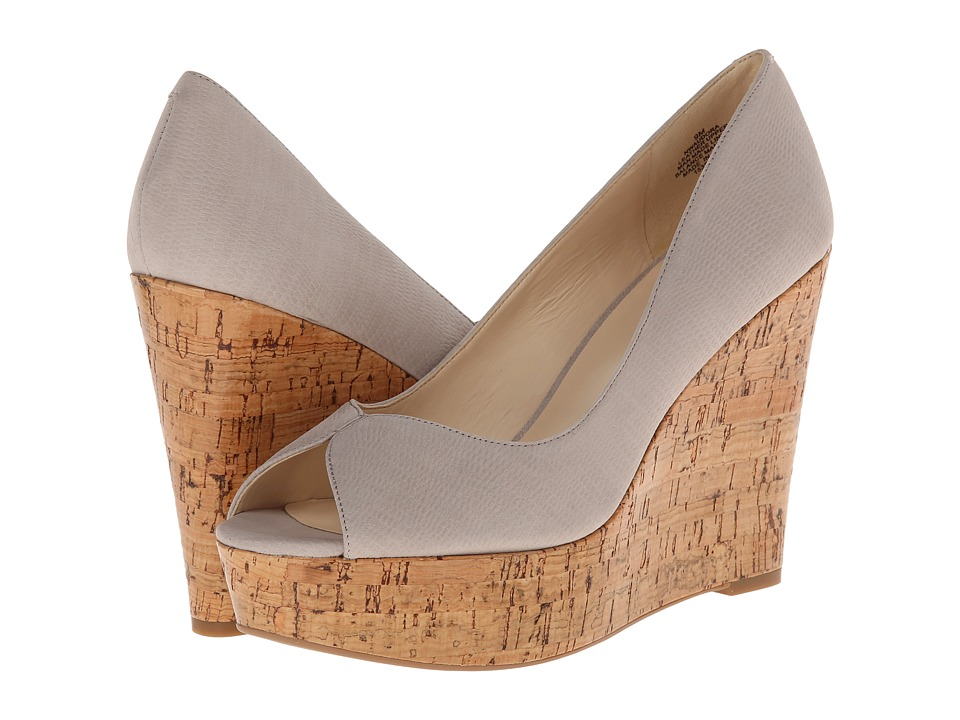 Nine West Audora (Light Grey Suede) Women