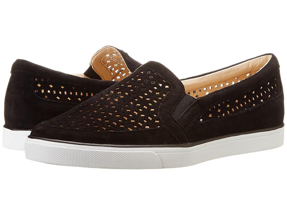 Nine West - Banter (Black Suede) Women's Slip on Shoes
