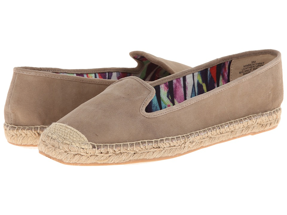 Nine West - Beachinit (Taupe Suede) Women's Slip on Shoes