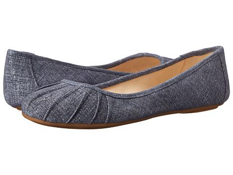 Nine West - Blustery (Medium Blue Leather) Women
