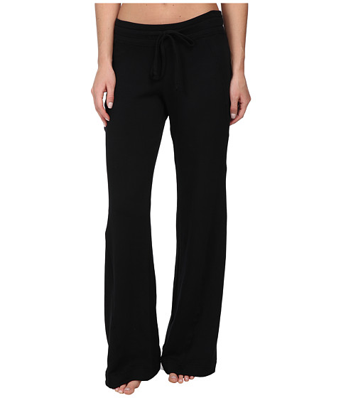 Pink Lotus - Double Time Twist Seam Pant (Black) Women's Casual Pants