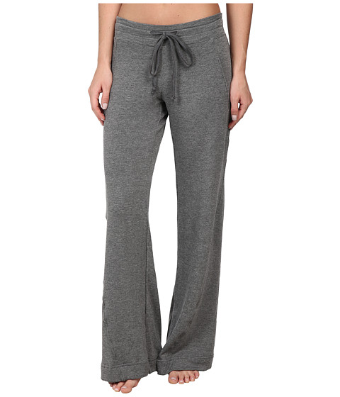 Pink Lotus - Double Time Twist Seam Pant (Charcoal) Women's Casual Pants