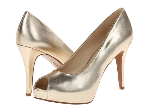 Nine West - Camya (Light Gold Metallic) High Heels