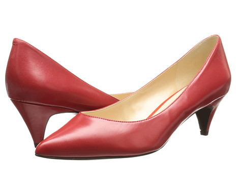Nine West - Cassy (Red Leather) High Heels